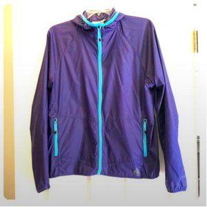 Eddie Bauer Rain/Wind Running Track Jacket Size L